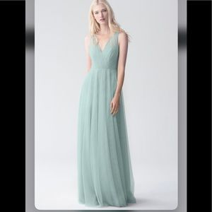 Jenny Yoo Emelie Bridesmaid Dress Ciel Blue